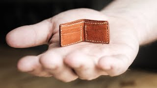 How Small Can You Make a Leather Wallet?