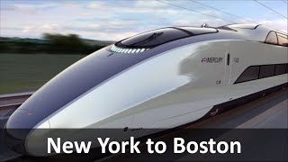 New York to Boston High Speed Rail