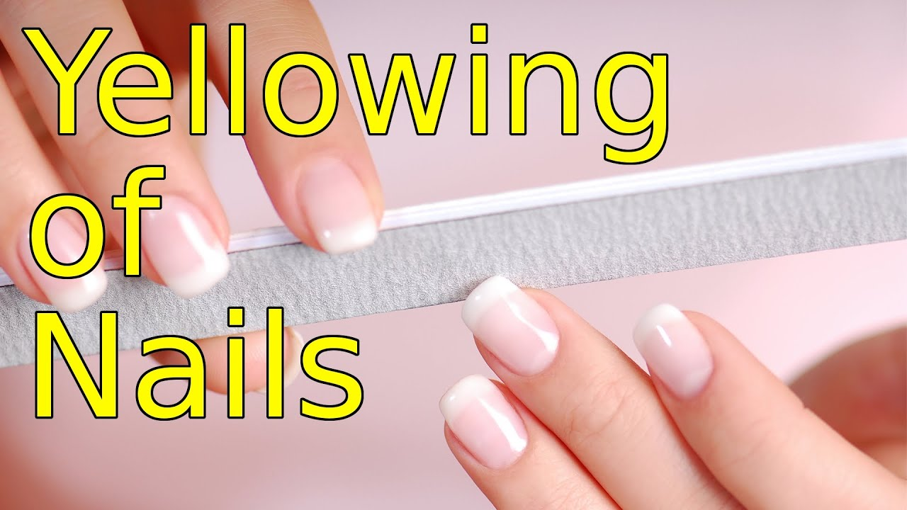 Nail Care Tips How to Prevent Yellowing of Nails from Nail Polish ...