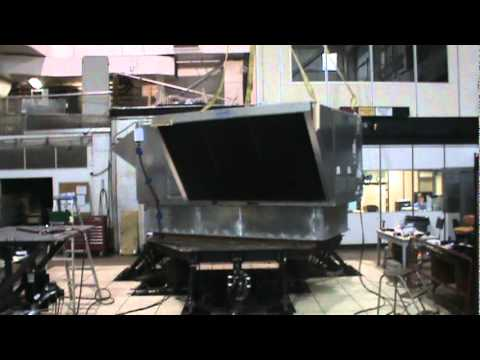 AAON RN series 30 ton rooftop unit with solid bottom curb seismic testing Aaon Rn Wiring Diagram on