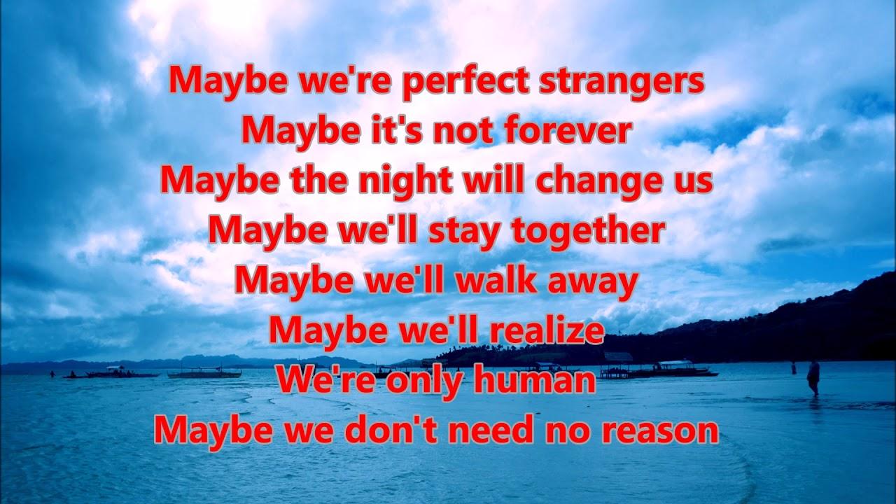 Jonas Blue   Perfect Strangers Lyrics