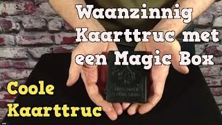 Waanzinnig kaarttruc !!! met een Magic Box