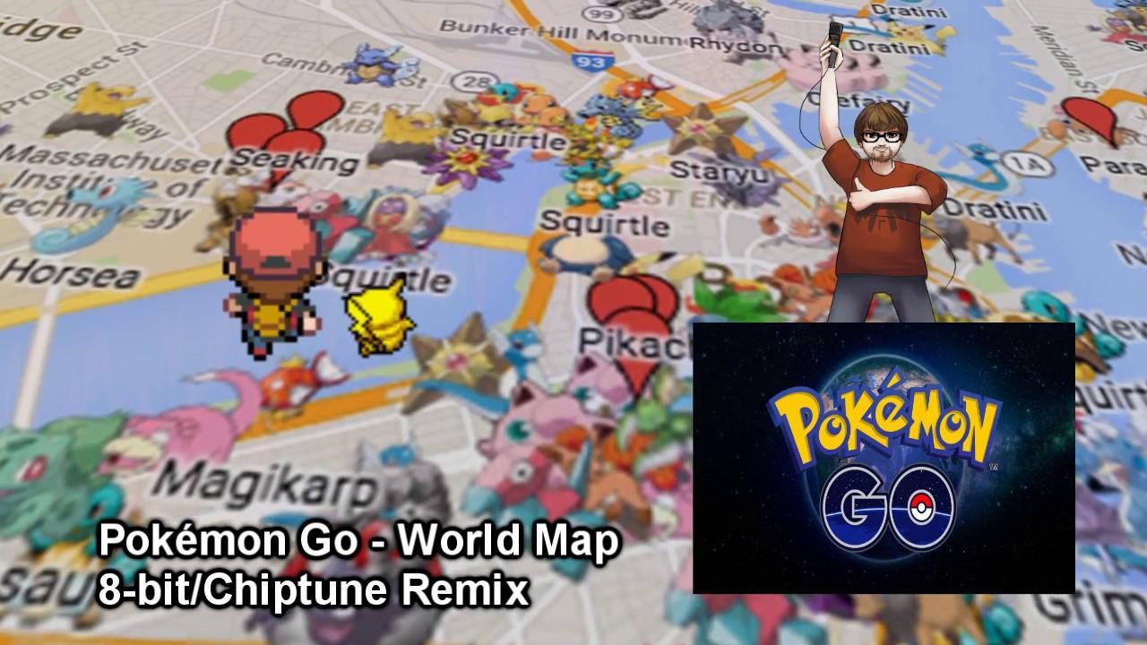Pokmon Go World MapTheme 8BitChiptune Remix YouTube