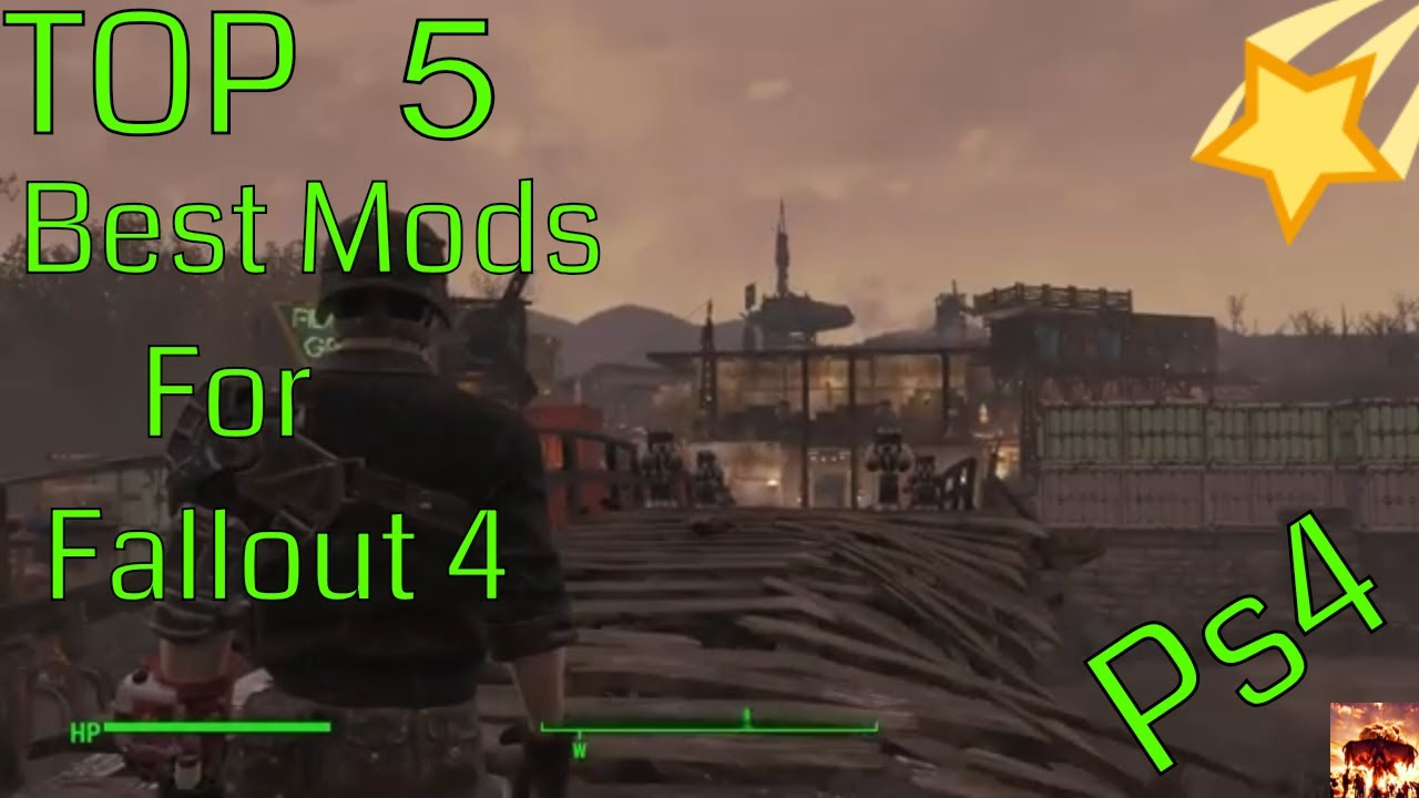 Best Fallout 4 Mods Ps4 2020 Fallout 4 ( Ps4 ) Top 5 Best Overhaul Mods   YouTube