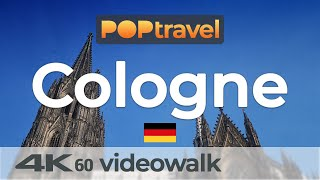 Walking in COLOGNE / Germany 🇩🇪- 4K 60fps (UHD)