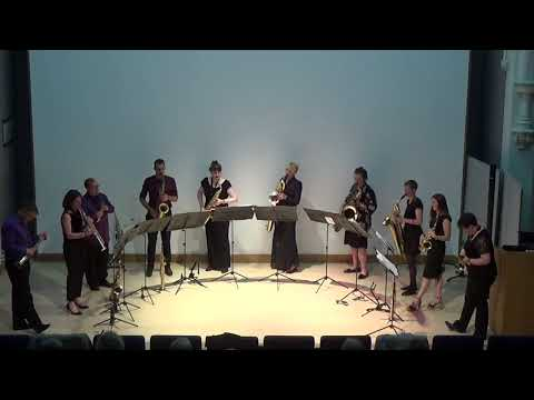 Over the Rainbow - sax ensemble (video ran out!)