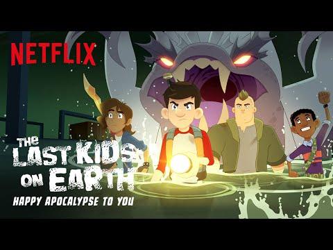 The Last Kids on Earth: Happy Apocalypse to You Trailer   Netflix Futures