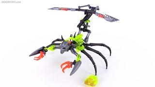 LEGO Bionicle Skull Scorpio review! set 70794