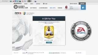 FIFA 14  FREE GIFT