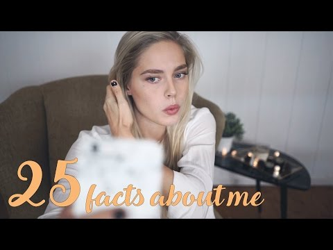 25 Things You Might Not Know About Me | Cornelia
