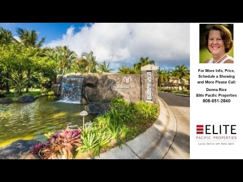 4100 QUEEN EMMA DR, PRINCEVILLE, HI Presented by Donna Rice.