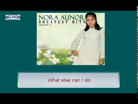 Nora Aunor - It's Time To Say Goodbye (Lyrics Video)
