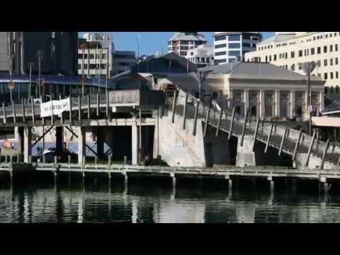Wellington Harbour Waterfront, New Zealand
