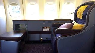 Thai Airways | 747-400 | BKK-HKG | First Class