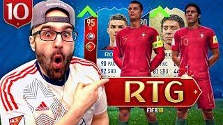 OMG WE GOT A GOAT! *AMAZING UPGRADE* FIFA 18 Ultimate Team RTG #10