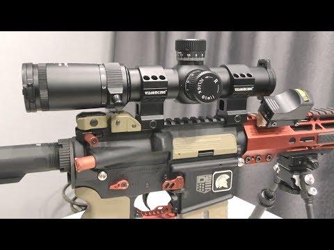 Оптический прицел VS1-8х26FFP VisionKing | РАСПАКОВКА | Подгораю от АлиЭкспресс