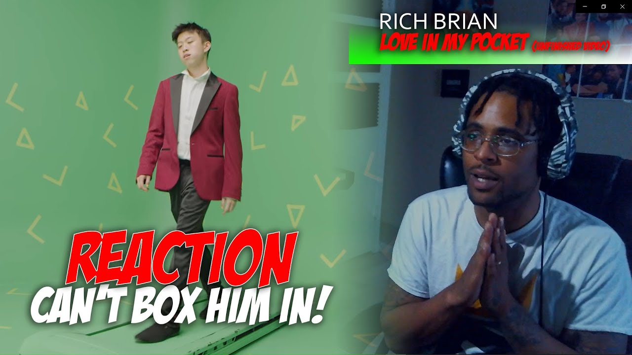 Rich Brian - Love In My Pocket (Unfinished Video) *Reaction*