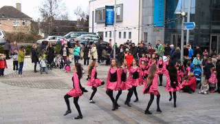 civic plaza Irish Dancers in Bray
