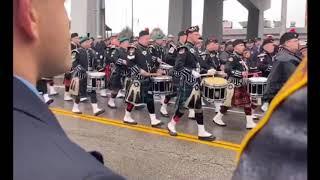 Funeral Service for Worcester Fire Lt. Jason Menard