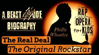 Phillis Wheatley for Kids Biography Rap Song - Black History Songs for Kids
