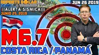 TERREMOTO M6.7 SACUDE COSTA RICA Y PANAMÁ EN REGIÓN ANUNCIADA