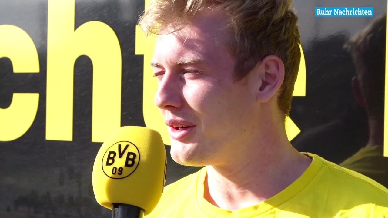 """BVB-Spieler Julian Brandt: """"Wir sind in der Spur"""""""