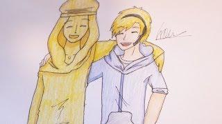 How I draw Pewdiepie and Stephano.