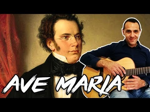 Ave Maria - Schubert - Easy Chords - Accordi Facili - Guitar - Chitarra
