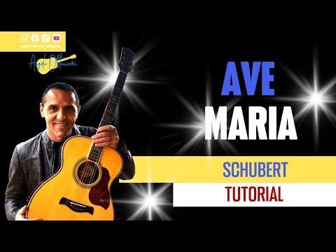 ave maria - schubert - easy chords - accordi facili - guitar - chitarra