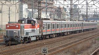 東急3000系3013F J-TREC出場(甲種輸送)