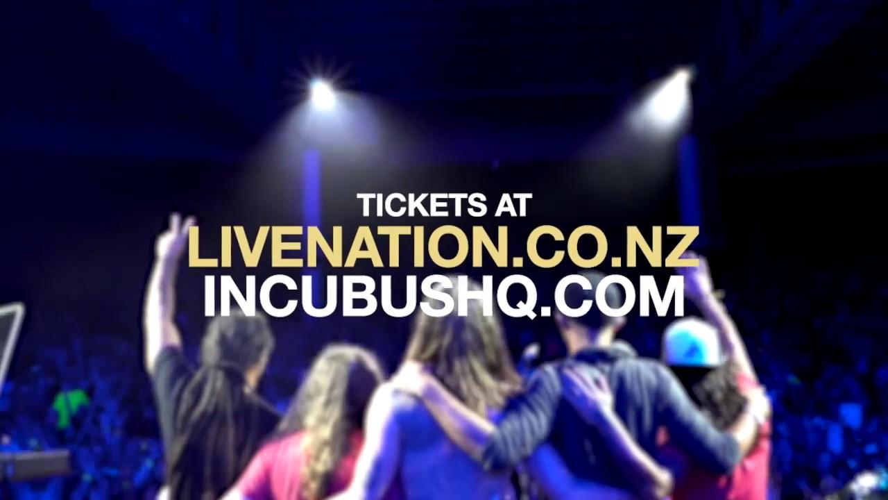 Incubus New Zealand Tour 2018 Youtube