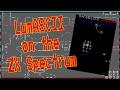 LumASCII on the ZX Spectrum from Bob's Stuff (2012)
