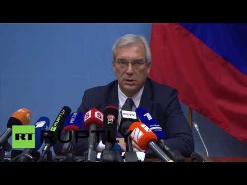 Belgium: Grushko condemns NATO's increased presence in Baltic States