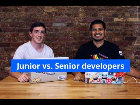 What's the difference between Junior & Senior developers?