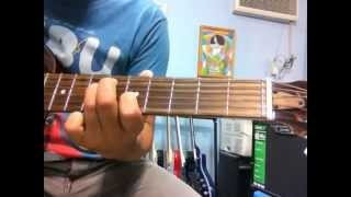 Unbreak My Heart Johnny Matthis intro guitar solo lesson