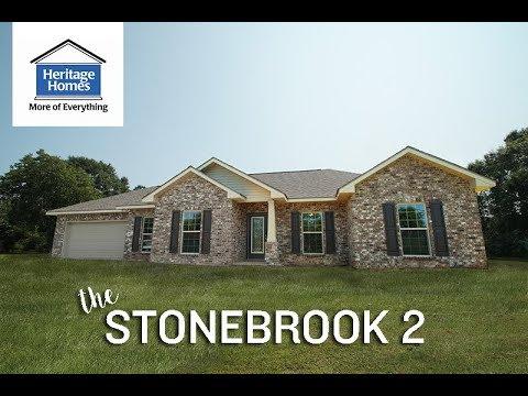 Stonebrook 2 - Deluxe Pkg + Double Garage - Heritage Homes
