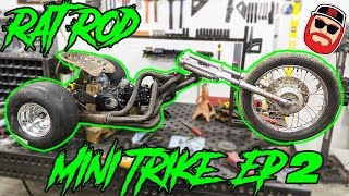 V8 Header Rat Rod Mini Trike Ep2