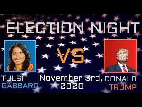 2020 Election Night | Tulsi Gabbard vs Donald Trump