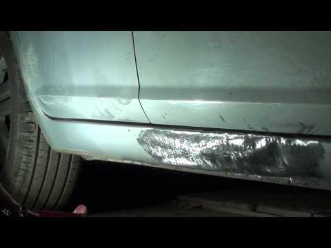 Ford C Max рихтую правый порог