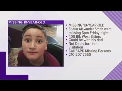 Missing 10-year-old boy last seen Friday night