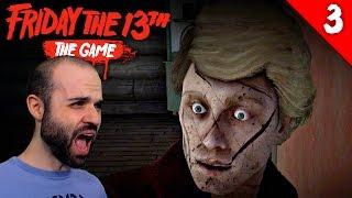 LA CHICA QUE AYUDABA A JASON... iaeputa | FRIDAY THE 13th Gameplay Español