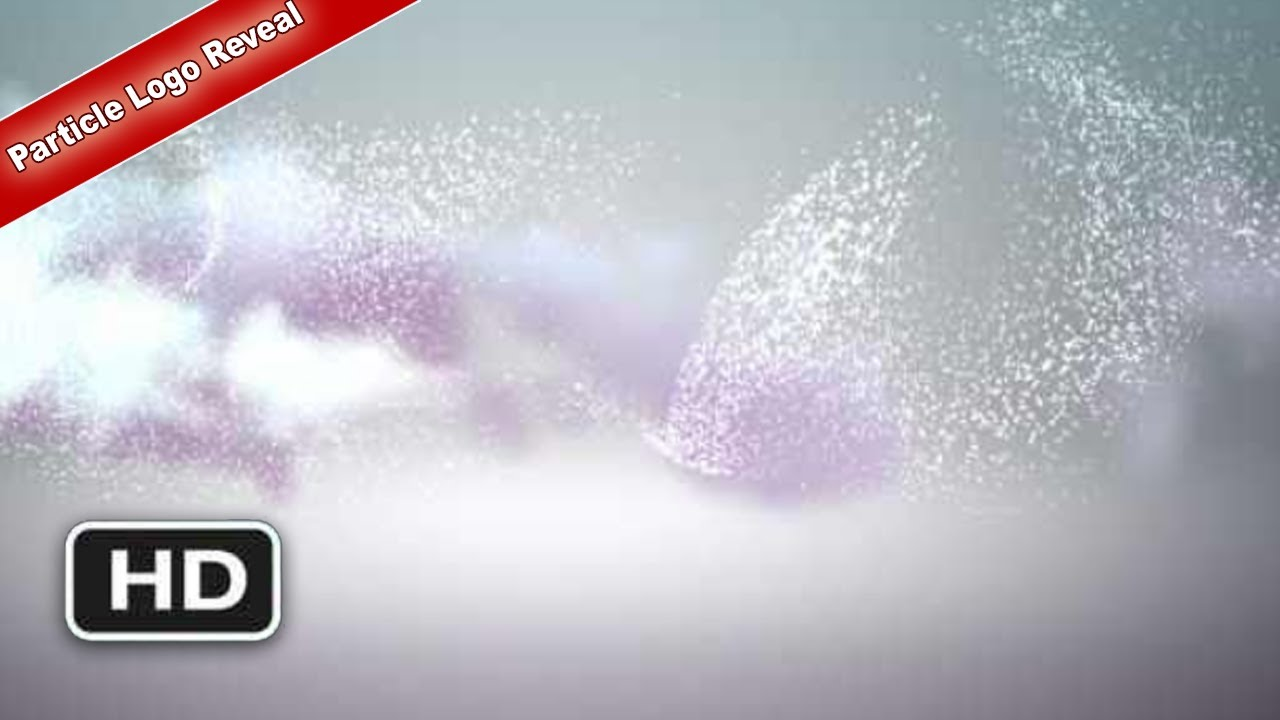FREE Adobe after effects template - AE project Particle Logo ...