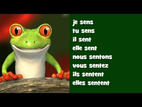 Conjugaison Musicale Indicatif Present Verbe Sentir Youtube