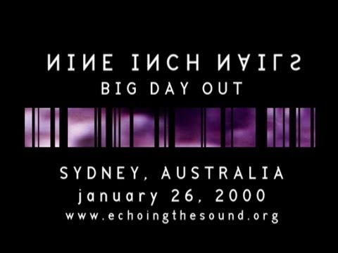 Nine Inch Nails at the Big Day Out in Sydney, Australia, January 26, 2000