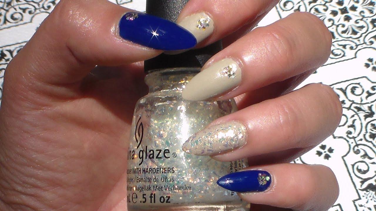 Beautiful nail art using only nail polish natural stiletto nails beautiful nail art using only nail polish natural stiletto nails youtube prinsesfo Gallery