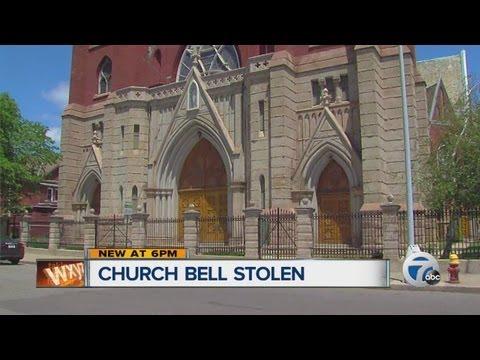 Detroit church bell stolen