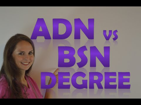 associate degree in nursing versus bachelor of science 07032018  my friend is an lpn with a bachelor of science degree in  a diploma or certificate versus a degree  your associate degree in nursing until you.