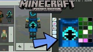 CARA EDIT CAPES / MEMBUAT CAPES VERSI SENDIRI !? - Minecraft PE (Pocket Edition) 0.15.9
