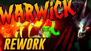 REWORK WARWICK | LA FURIA DE ZAUN (League of Legends) TEASER REACCIÓN