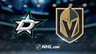 Dallas Stars vs Vegas Golden Knights | Dec.09, 2018 | Game Highlights | NHL 2018/19 | Обзор матча
